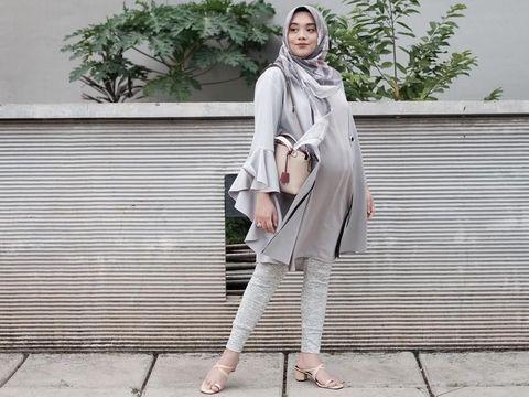 Gaya Hijab Untuk Ibu Hamil